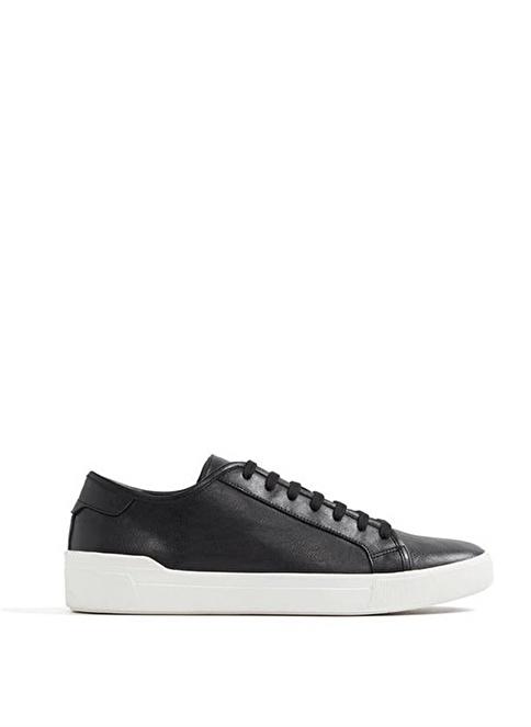 Aldo %100 Deri Bağcıklı Ayakkabı Siyah